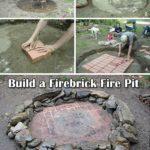 Foc de tabara din piatra naturala