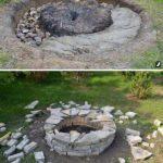 Foc de tabara rustic