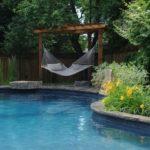 Hamac langa piscina