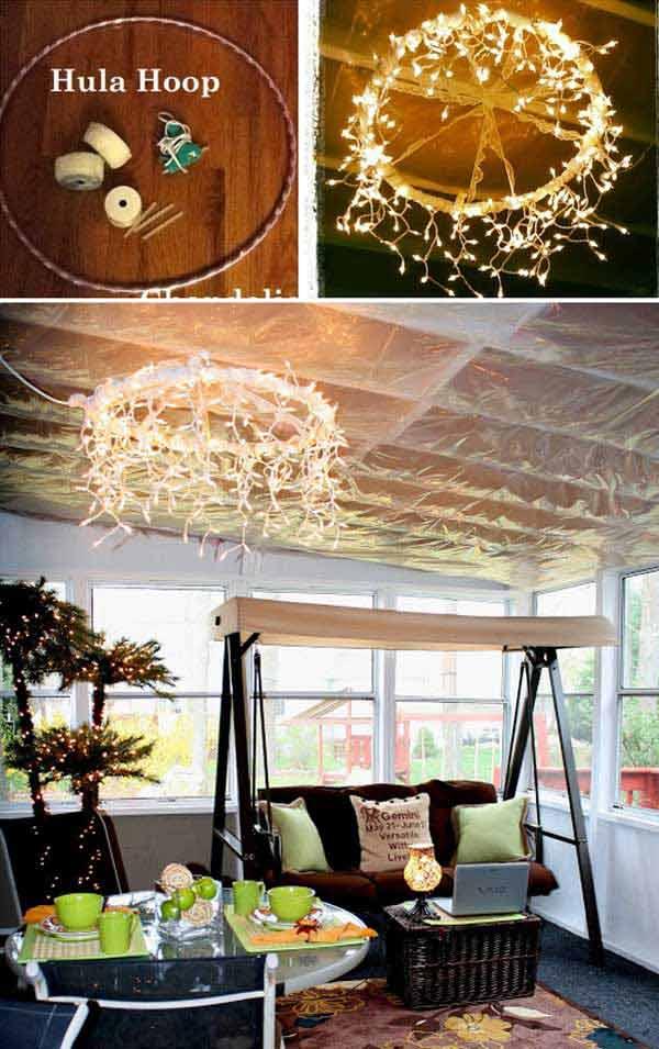 Iluminare terasa cu instalatie de leduri