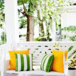Leagan veranda cu perne