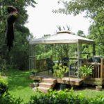 Pavilion de gradina cu masa