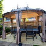 Pavilion pentru gradina