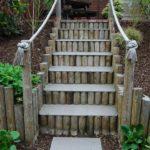 Scari terasa din lemn