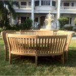 Set mobilier din lemn pentru terasa