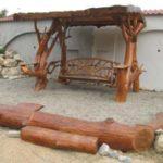 Balansoar rustic mare