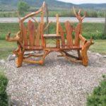 Banca rustica de lemn
