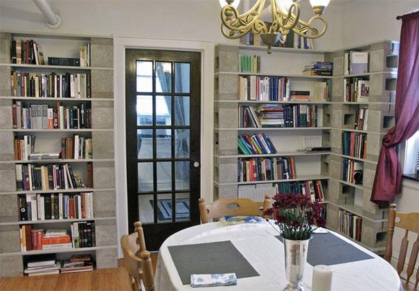Biblioteca din blocuri de zgura