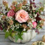 Bostan alb cu flori