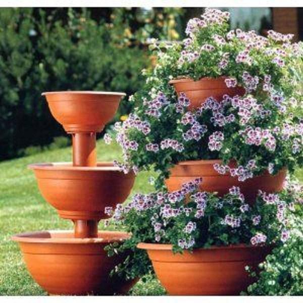 Cascada de flori pentru gradina