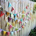 Decor colorat pentru gard