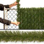 Decor gard de sarma cu snur de iarba