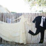 Decor nunta gard