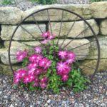 Decor rustic cu flori