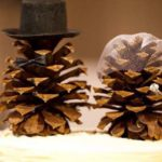 Decoratiuni mici din conuri de brad