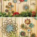 Decoruri cu flori pentru gard