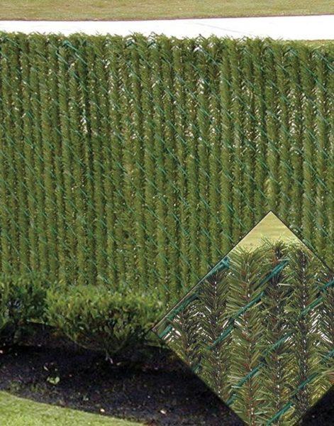 Gard de sarma cu snur de iarba
