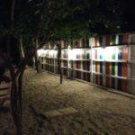 Gard decorat multicolor