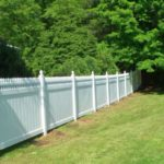 Gard gradina din PVC