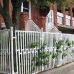 Gard gradina din teava PVC