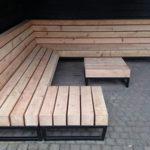 Mobilier din lemn pentru terasa