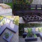 Mobilier din paleti din lemn DIY