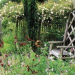 Scaun rustic gradina