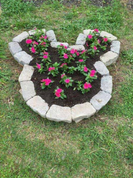 Strat decorativ de flori