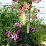 Suport rustic de flori