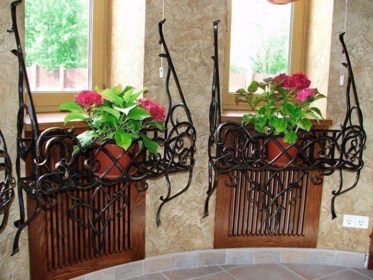 Suporturi de geam pentru flori