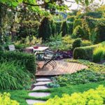 Amenajare terasa cu plante decorative