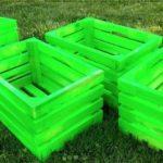 Construire jardiniera din ladite de lemn
