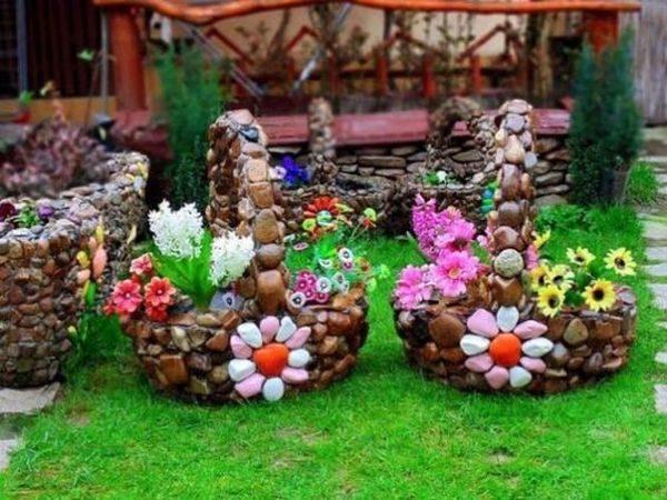 Cosuri cu flori gradina