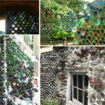 Decoratiuni cu sticle colorate