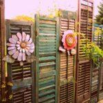 Gard din obloane vechi