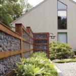 Gard modern din gabioane