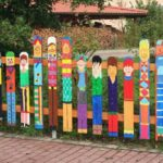 Gard pictat