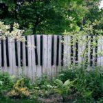 Gard sub forma de pian