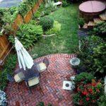 Gradina mica cu terasa