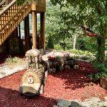 Jardiniera rustica gradina