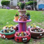 Jardiniere decorative gradina