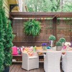 Paravan din lemn terasa