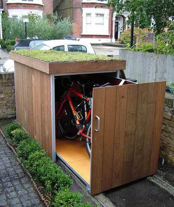 Solutie depozitare biciclete