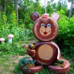 Ursulet din anvelope vechi