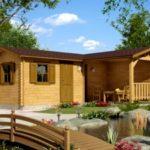 Bucatarie de vara din lemn