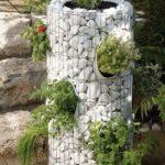 Gradina verticala din gabion