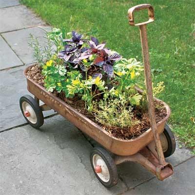 Jardiniera mobila