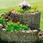 Strat in spirala cu flori