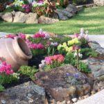 Aranjament floral pentru gradina