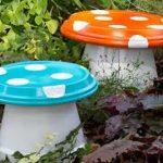 Model de ciuperci pentru gradina